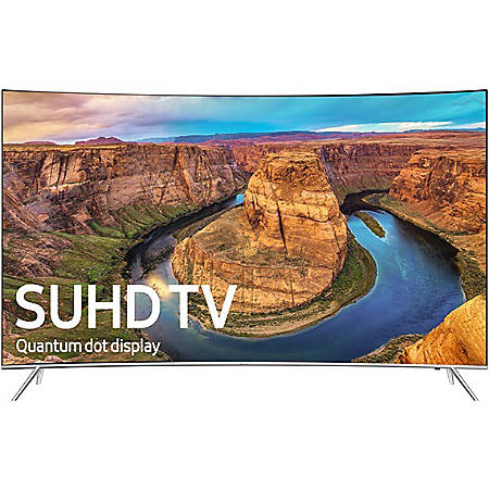 "Samsung 8500 UN65KS8500F 65"" Curved Screen Smart LED-LCD TV - 4K UHDTV - Silver - Edge LED Backlight - DTS Premium Sound 5.1, Dolby Digital Plus"