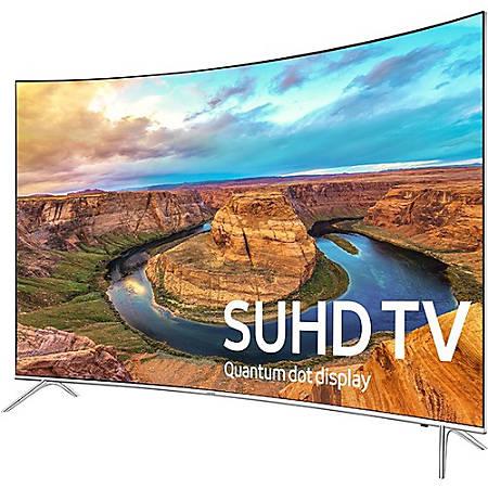 "Samsung 8500 UN65KS8500F 65"" Curved Screen Smart LED-LCD TV - 4K UHDTV - Silver"