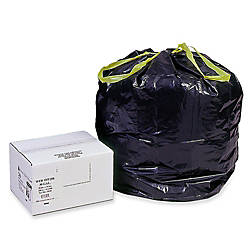 Webster Drawstring Trash Can Liners 30