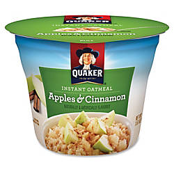 Quaker Express Oatmeal Cups Apples Cinnamon