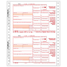 ComplyRight 1099 DIV Tax Forms Continuous