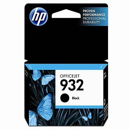 HP 932, Black Original Ink Cartridge (CN057AN)