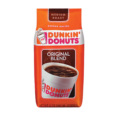 Dunkin' Donuts® Original Blend Coffee, 12 Oz Bag