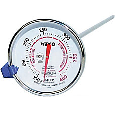 Winco CandyFryer Thermometer 100 400
