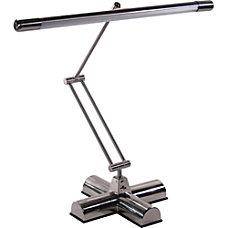 Advantus Brushed Steel Desk Lamp Silver