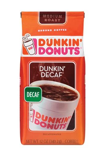 Dunkin Donuts Decaffeinated Coffee 12 Oz Bag Item 744033