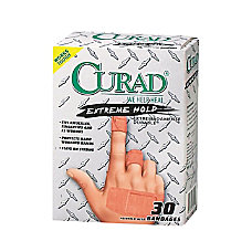 CURAD Extreme Hold Bandages Assorted Sizes