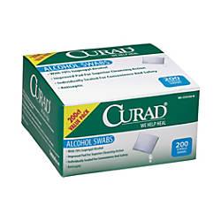 CURAD Sterile Alcohol Prep Pads 1