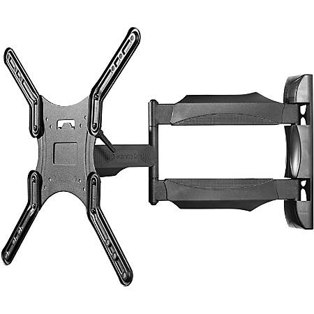 """Kanto M300 Wall Mount for TV - Black - 1 Display(s) Supported55"""" Screen Support - 80 lb Load Capacity - 400 x 400 VESA Standard"""