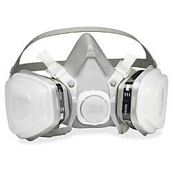 3M Dual Cartridge Respirator Disposable Lightweight