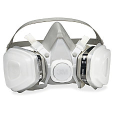 3M Dual Cartridge Respirator Disposable Lightweight