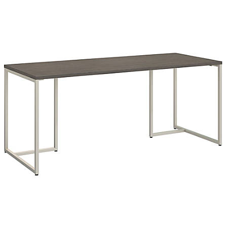 """kathy ireland® Office by Bush Business Furniture Method Table Desk, 72""""W, Cocoa, Premium Installation"""