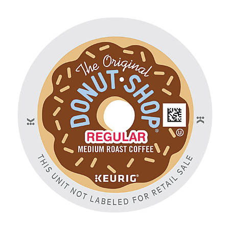 The Original Donut Shop® Medium Roast Single-Serve K-Cup®, 0.39 Oz, Carton Of 48