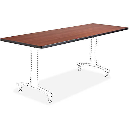 "Safco Cherry Rumba Training Table Tabletop - Rectangle Top - 60"" Table Top Length x 24"" Table Top Width"