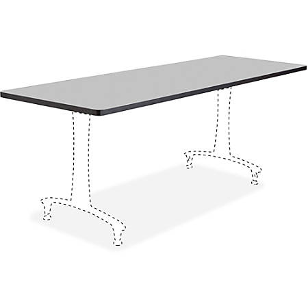 """Safco Rumba Training Table Tabletop - Rectangle Top - 72"""" Table Top Length x 24"""" Table Top Width"""