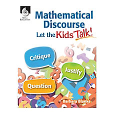 Shell Education Mathematical Discourse Let the