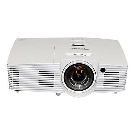 Optoma X316ST XGA 3400 Lumen Full 3D Short Throw Projector with 20,000:1 Contrast Ratio