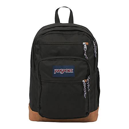 JanSport® Cool Student Laptop Backpack, Black
