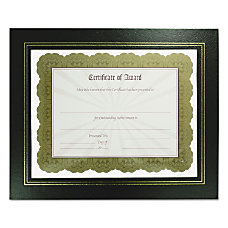 Nu Dell Flat Leatherette Document Frames