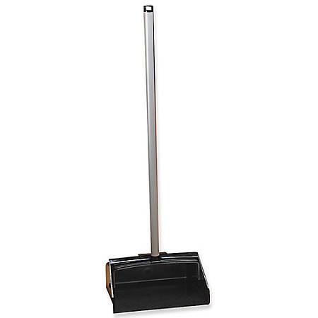 "Continental Lobby Dust Pan, 39 1/2"" x 12"" x 11"", Black"