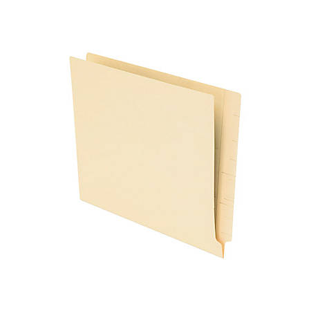 Pendaflex® Smart Shield™ End-Tab Folders, Letter Size, Manila, Box Of 75