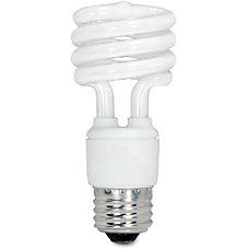 Satco Spiral T2 Fluorescent Light Bulbs