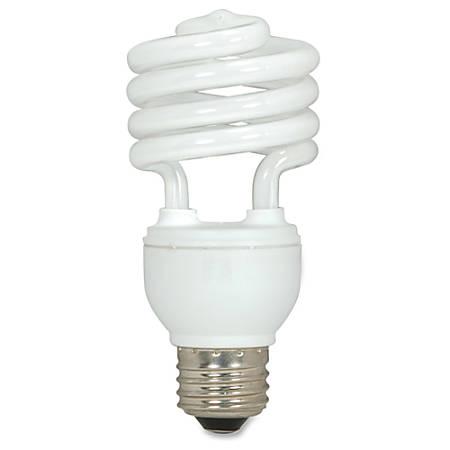 Satco® Spiral T2 Fluorescent Light Bulbs, 18 Watt, Box Of 3