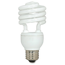 Satco Spiral T2 Fluorescent Light Bulbs