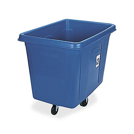 Rubbermaid® Recycling Cube Truck