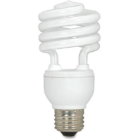Satco T2 18-Watt Fluorescent Spiral Bulb, White