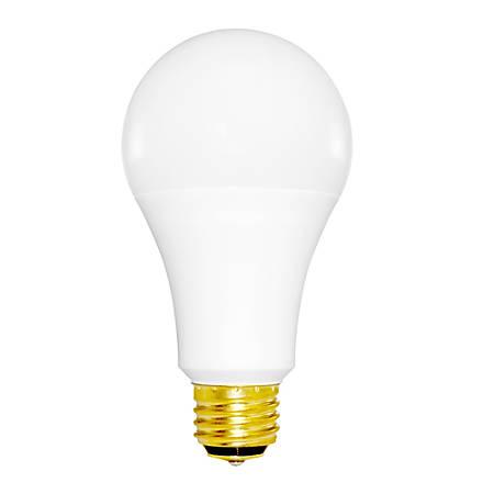 Euri A21 3-Way LED Bulb, 1600 Lumens, 16 Watt, 3000K/Warm White, Pack Of 10 Bulbs