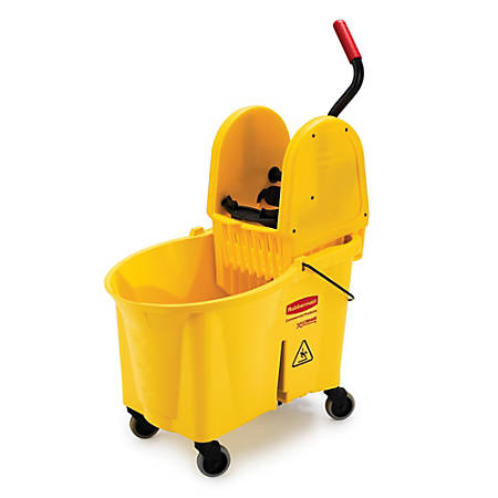 Rubbermaid® WaveBrake Down Press Combo Mop Bucket