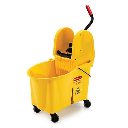 Rubbermaid® WaveBrake Down Press Combo Mop Bucket