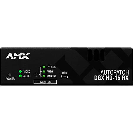 AMX AVB-RX-DGX-SC FIBER-HD15 Video Console