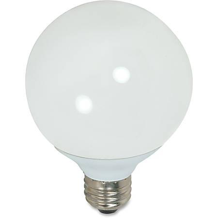 Satco CFL G25-Size 15-Watt Bulb, White