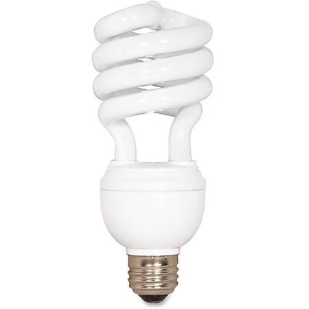 Satco® Spiral Compact 3-Way Fluorescent Light Bulb, 12/20/26 Watt