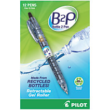 Pilot Bottle to Pen B2P Gel