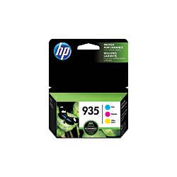 HP 935 CyanMagentaYellow Ink Cartridges N9H65FN140