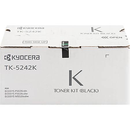 Kyocera® TK-5242K Original Black Toner Cartridge, KYOTK5242K Item # 7457615