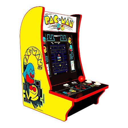 "Atari Arcade1Up Counter Cade, Pac-Man, 18.5""H x 11.5""W x 12.5""D"