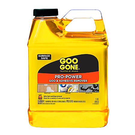 Goo Gone® Pro-Power Liquid Cleaner, Citrus Scent, 32 Oz