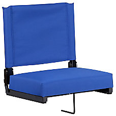 Flash Furniture Grandstand Comfort Seat BlueBlack