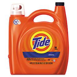Tide HE Laundry Detergent Original Scent