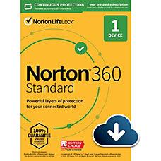 Norton 360 Standard For 1 Device