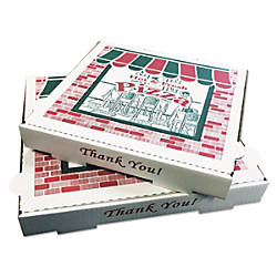 Box Container Co Pizza Boxes White