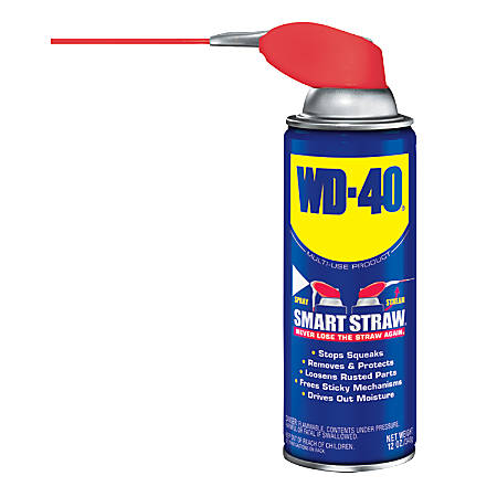 wd 40 smart straw 12 oz can by office depot officemax. Black Bedroom Furniture Sets. Home Design Ideas