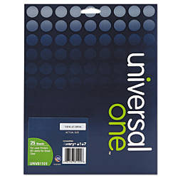 Universal Deluxe Permanent Labels 12 x