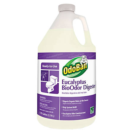OdoBan Eucalyptus BioOdor Digester Refill, Floral Scent, 1 Gallon