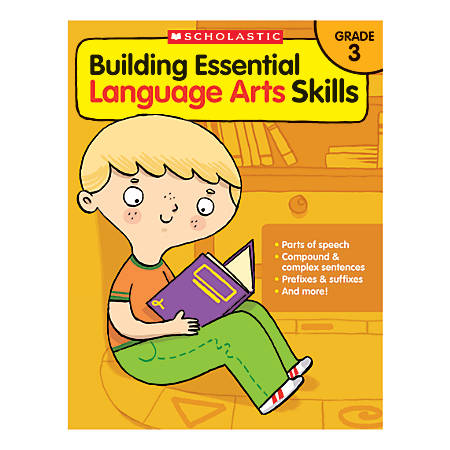 scholastic building essential language arts skills grade 3 by office depot officemax. Black Bedroom Furniture Sets. Home Design Ideas