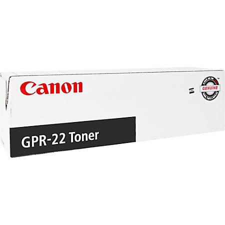 Canon (GPR-22) 0386B003AA Black Laser Toner Cartridge